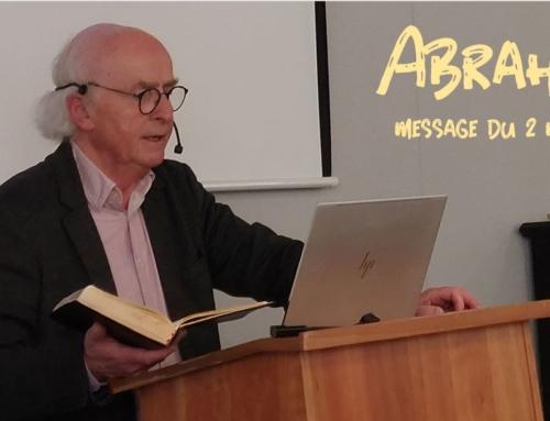 """""""Abraham, le père des croyants"""" – message d'Edgar du dimanche 2 mai 2021."""