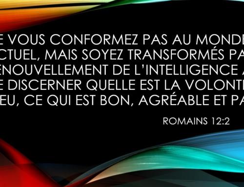 Une prière pour renouveler notre intelligence !